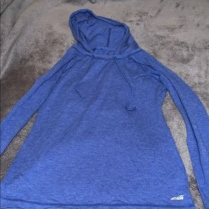 Avia small blue thin hoodie activewear workout
